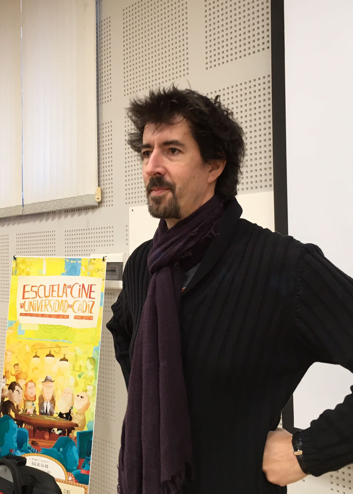 Félix Viscarret con el curso Dirección de Cine